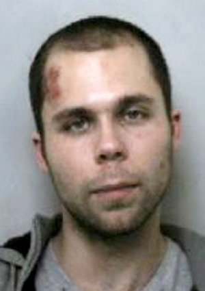 Lewis Webb went beserk with a hammer smashing up 28 cars after getting dumped by his girlfriend