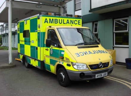 The cold-calling salesman called an ambulance after realising the pensioner he rang was having breathing difficulties