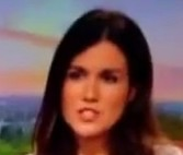 Susanna Reid and Charlie Stayt on air today shortly after the technician was heard swearing