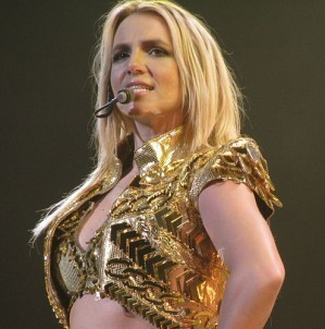Britney Spears has been dubbed Godney - a mixture of God and Britney
