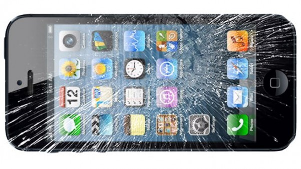 A broken iPhone - one of the items that could be sold on faultystuff.co.uk