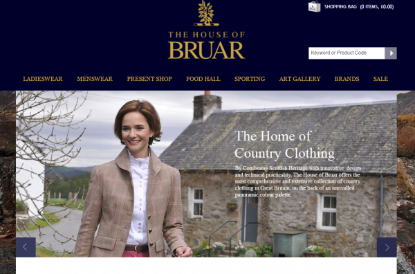 The House Of Bruar will mark 2 years in retail with an Easter sale