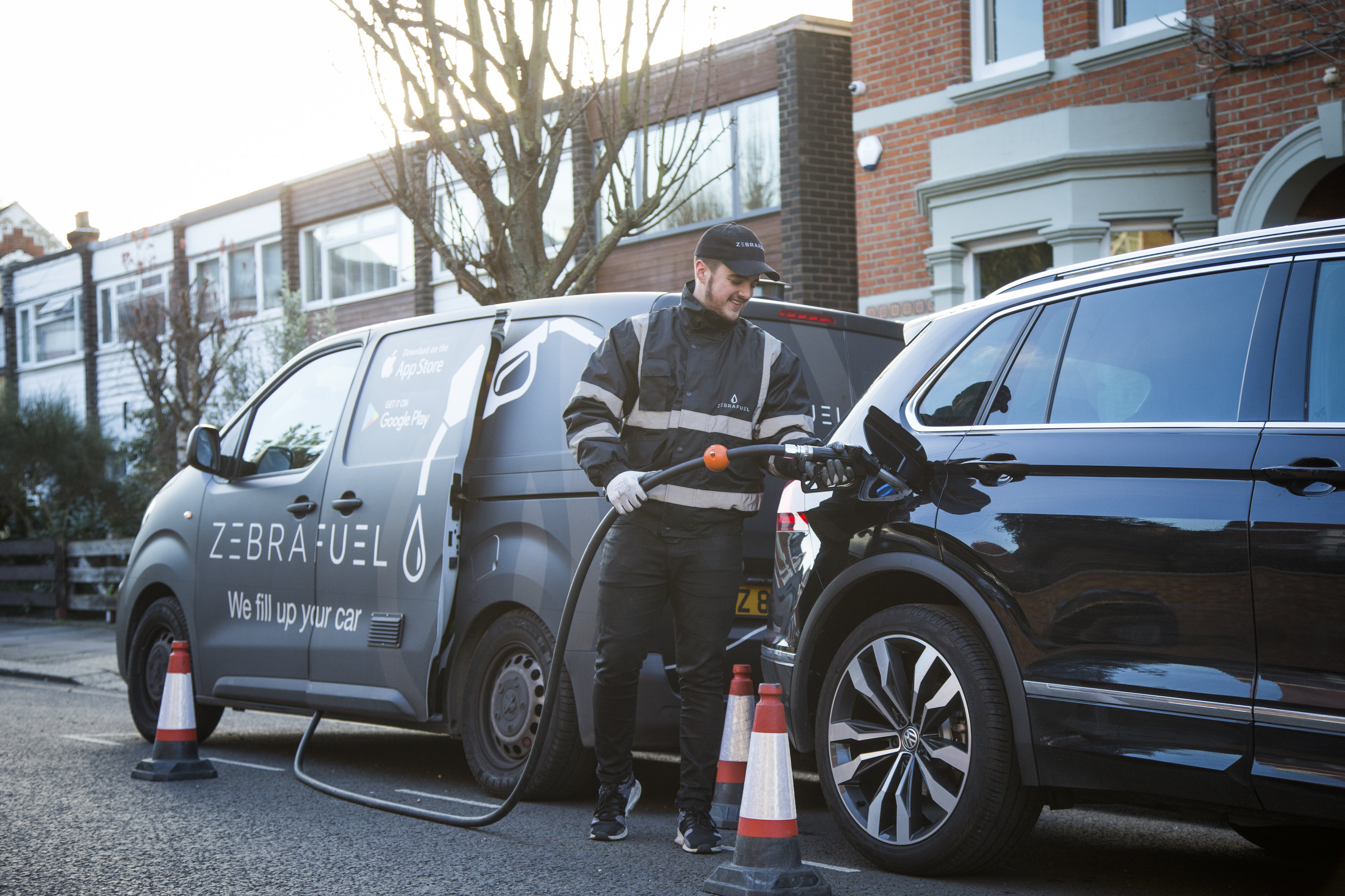 Company Launch Britain's First Petrol Delivery Service - SWNS