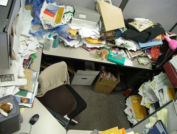 The average office desk can be dangerously unhygienic