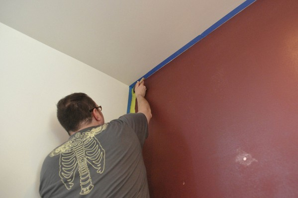 Adding coving to walls and ceilings is a great DIY fix