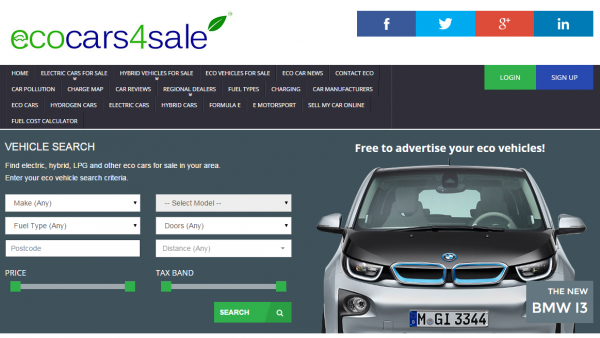 ecocars4sale.com specialises in clean and efficient motors