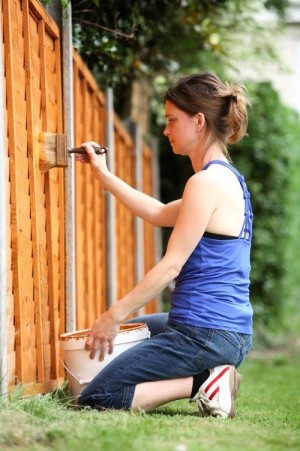 The UK has been hit by a shortage of fence panels