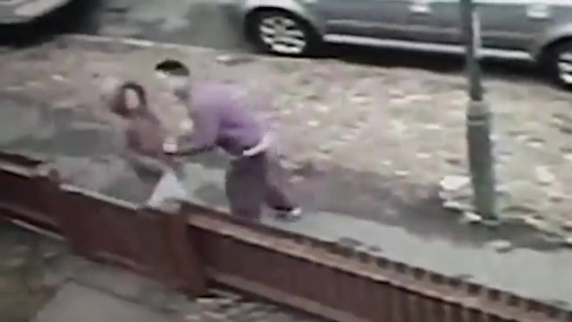 Man arrested after violent robbery of girl caught on CCTV
