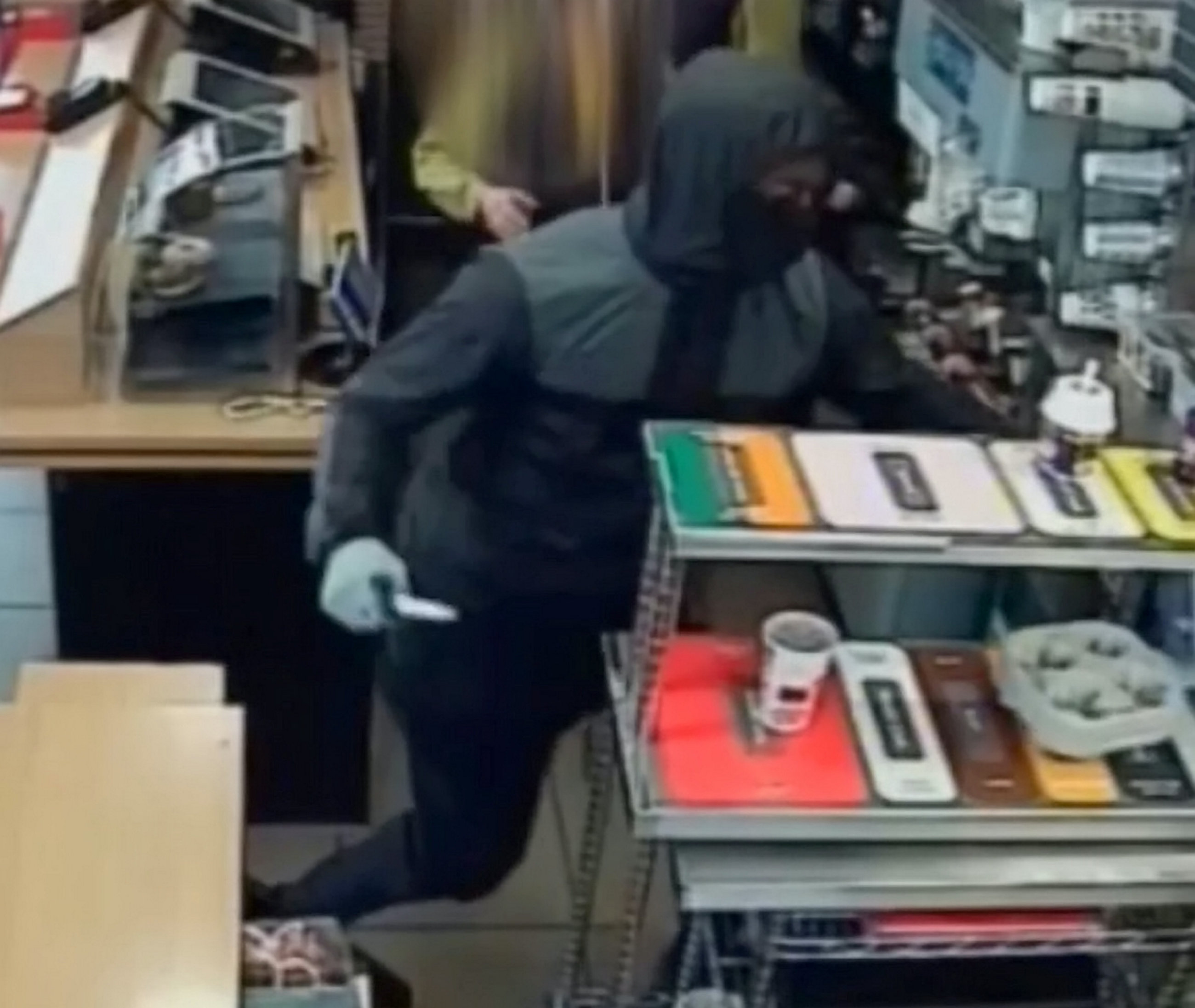 Knife-Wielding Robber Raids McDonald's... To Steal Monopoly Cards