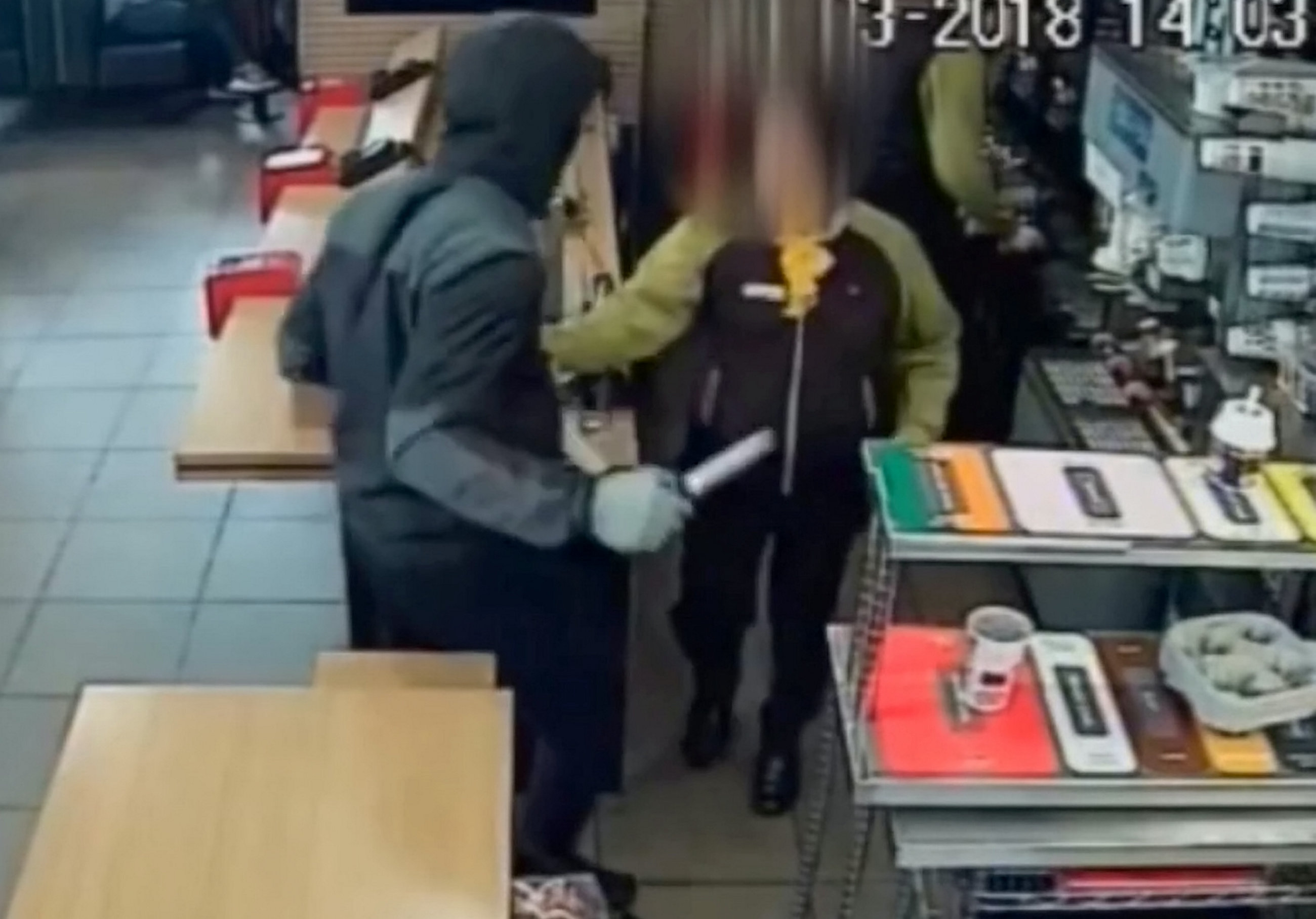 McDonald's Monopoly cards stolen by armed knifeman who went behind counter
