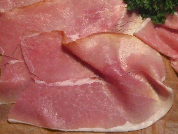 The Muslim checkout worker at Tesco refused to serve pieces of ham like these (file picture)
