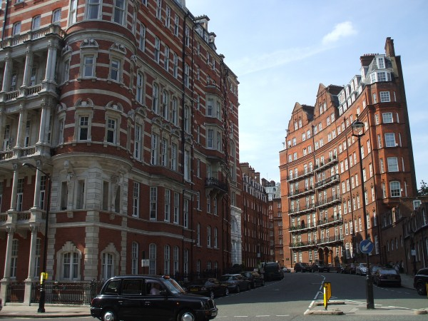 Knightsbridge is one of London's richest areas