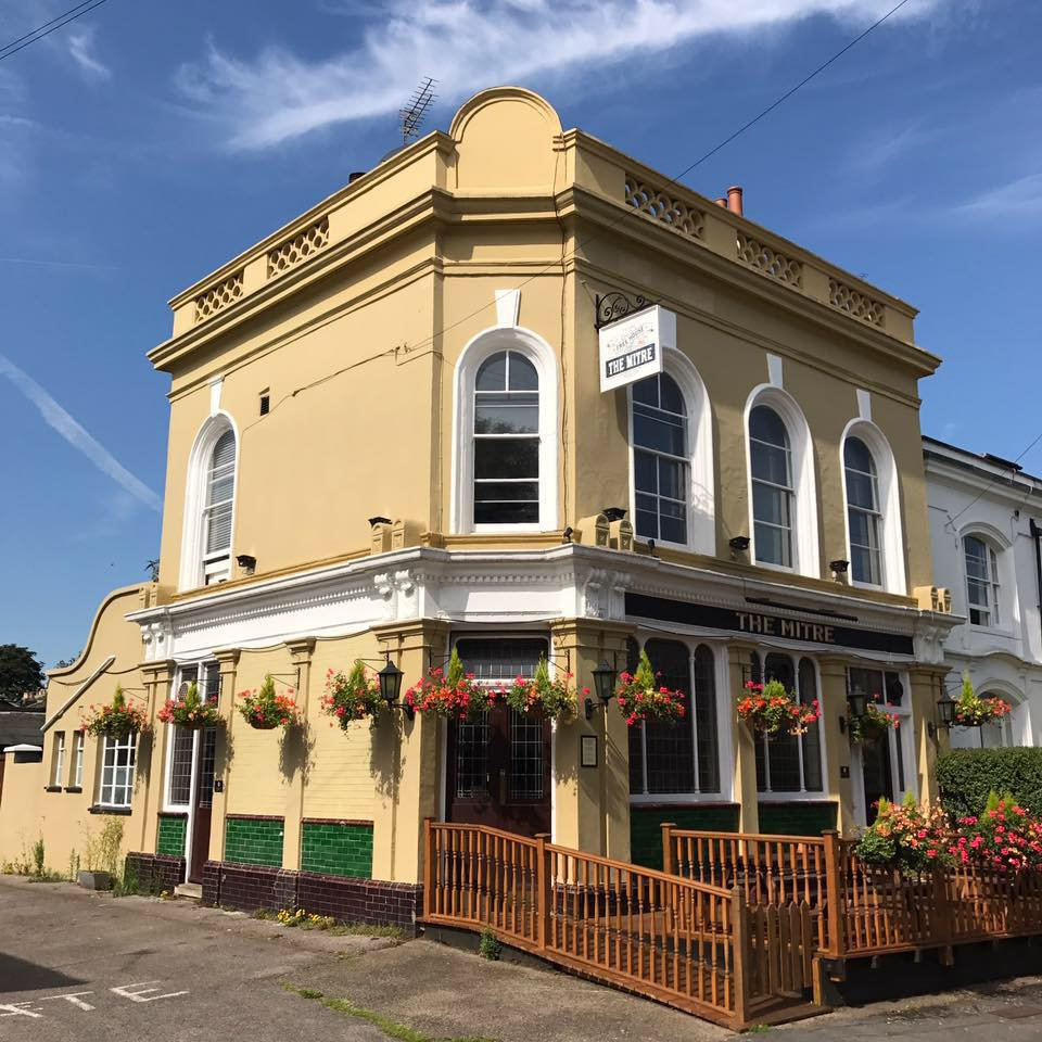 The Mitre pub in Richmond-upon-Thames, south west London.