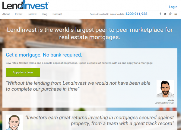 LendInvest has given out £200 million worth of mortgages in just 19 month