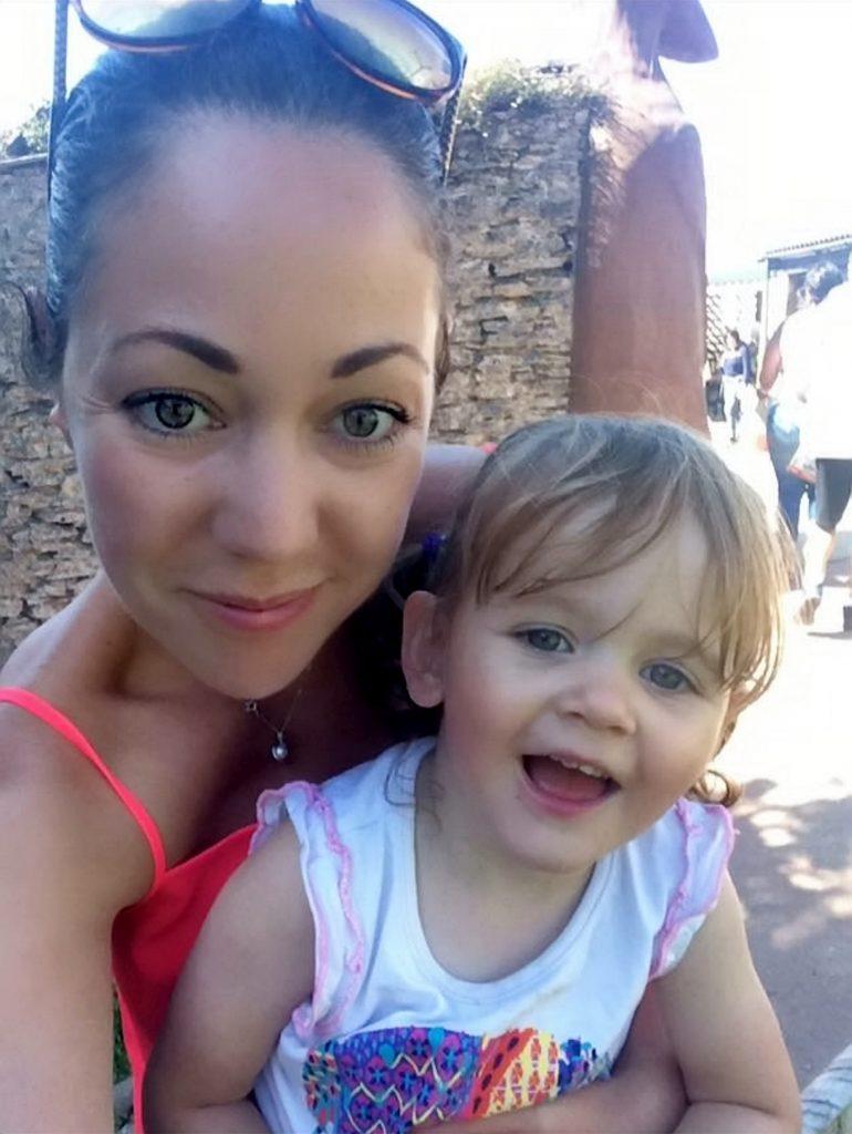 Lisa-Marie Wyatt with daughter Mollie.