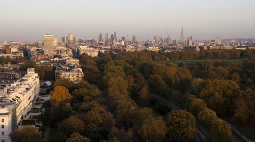 London is made up of 50 per cent of green space and could be classified as a National Park