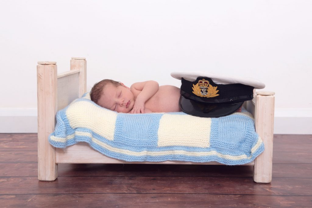 Daniel Grimes (12 days in the photo 1yr old now) - the June photo from the Little Troopers Armed forces calender.