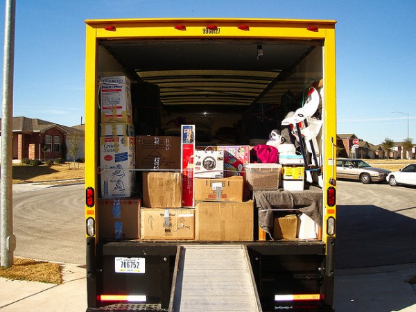 Ask family and friends for help when moving house