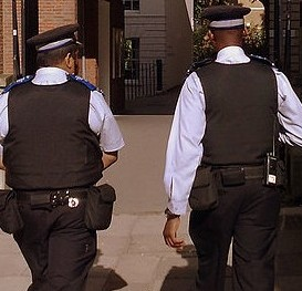 Three PCSOs were scaked for allegedly passing round naked pictures of a female colleague (file picture not of officers involved)