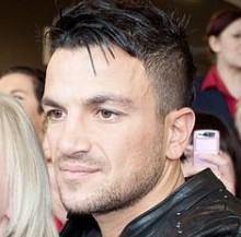 Peter Andre, pictured with a fan, is Britain's best-loved celebrity dad