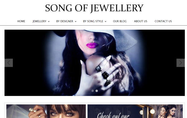 Lily Loraley's new online store Song Of Jewellery