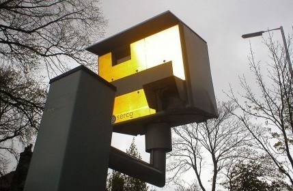 A speed camera similar to the one that misfired and clocked a driver doing 50mph in a 30 zone when in fact he was only travelling at 18mph