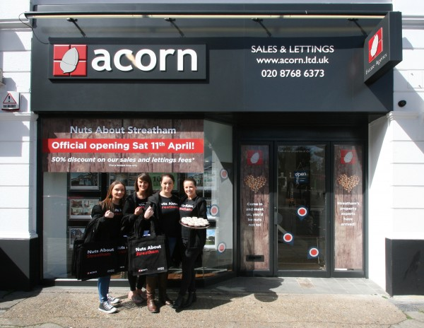 The opening of Acorn's new office in Streatham