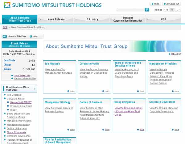 Sumitomo Mitsui Trust Group will use Lombard Risk REPORTER for its London branch