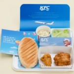 The new KFC in-flight meal promises to be a taste sensation for travellers
