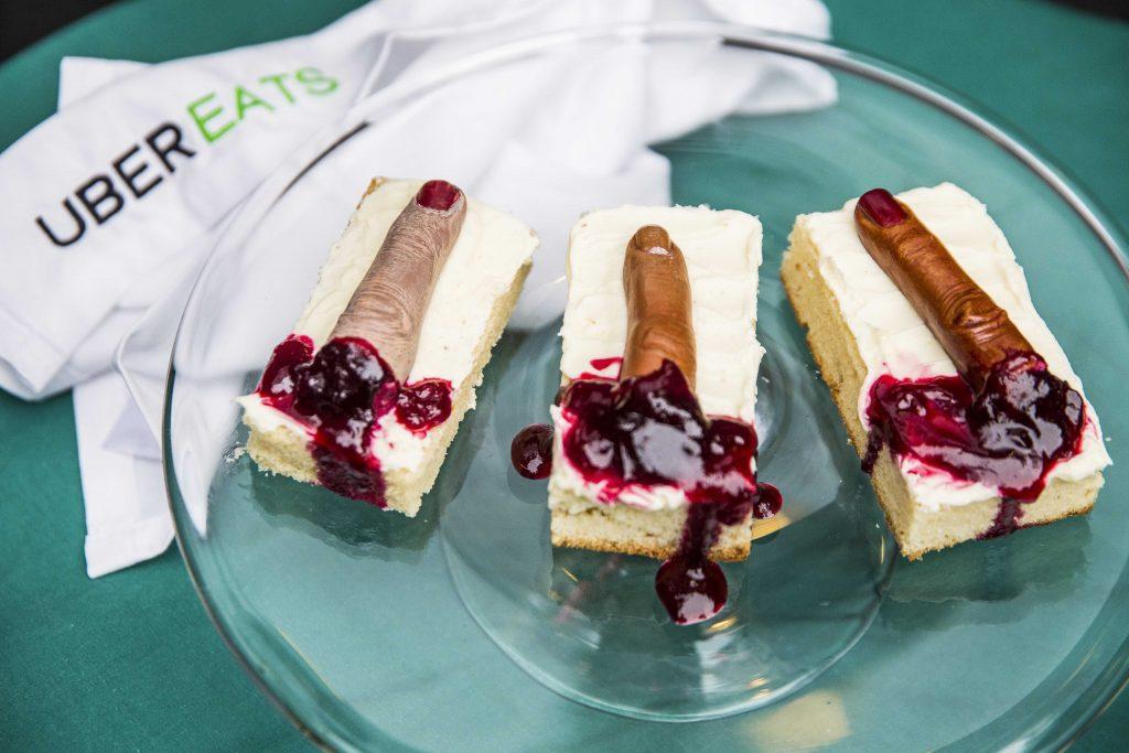 Dessert- Selection of Severed Finges.
