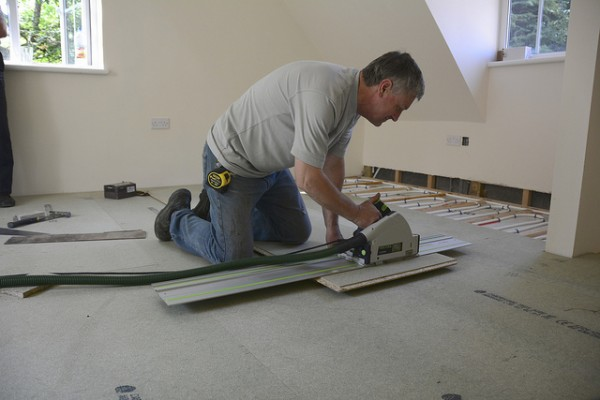 Underfloor heating will increase the value of a home