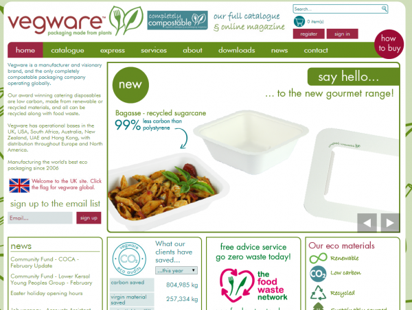 Vegware has enjoyed rapid growth