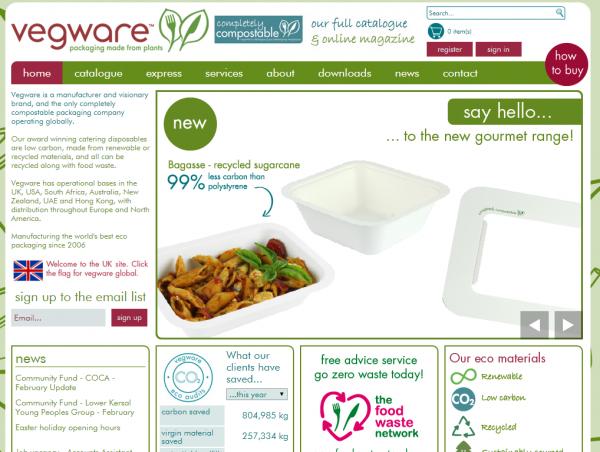 Vegware has enjoyed rapid growth