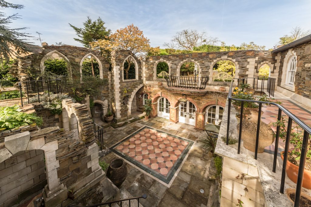 A property developer has spent the past 30 YEARS transforming a home into his own Venetian palace.