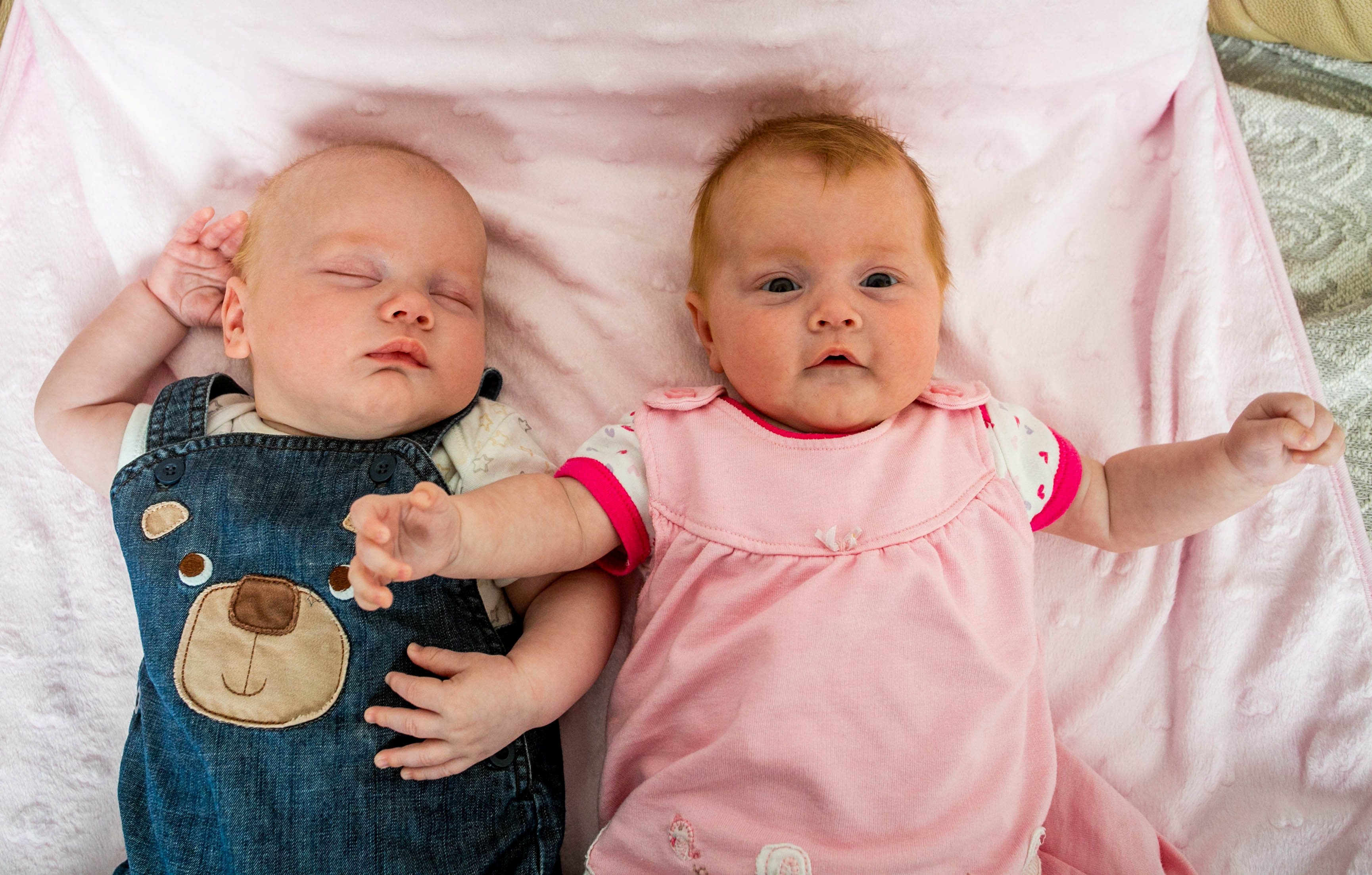 Mum with two uterus' welcomes 1 in 500 million twins - one ...