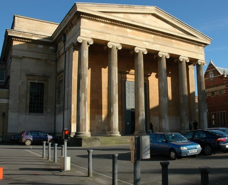 Amanda Wheeler, 31, was found guilty at Worcester Crown Court, pictured, of performing sexual acts on teenage boys