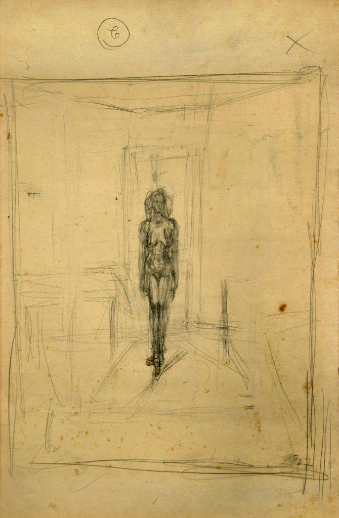 This never seen before double-sided sketch by a world famous artist has sold for almost double its estimated value at an international art auction.